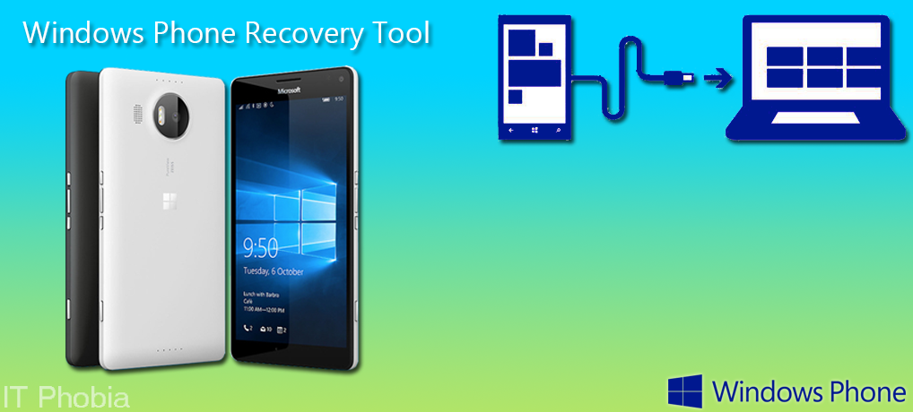 Windows Phone Recovery Tool Featured image