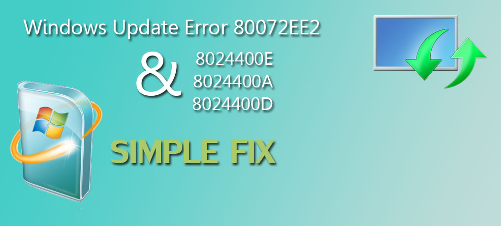 Windows update error 80072ee2 Featured image